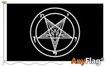 - BAPHOMET CHURCH OF SATAN ANYFLAG RANGE - VARIOUS SIZES